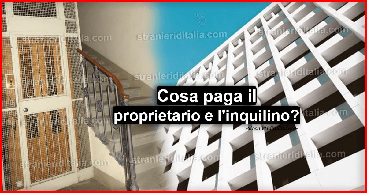 Ripartizione spese condominiali: Cosa paga il proprietario ...