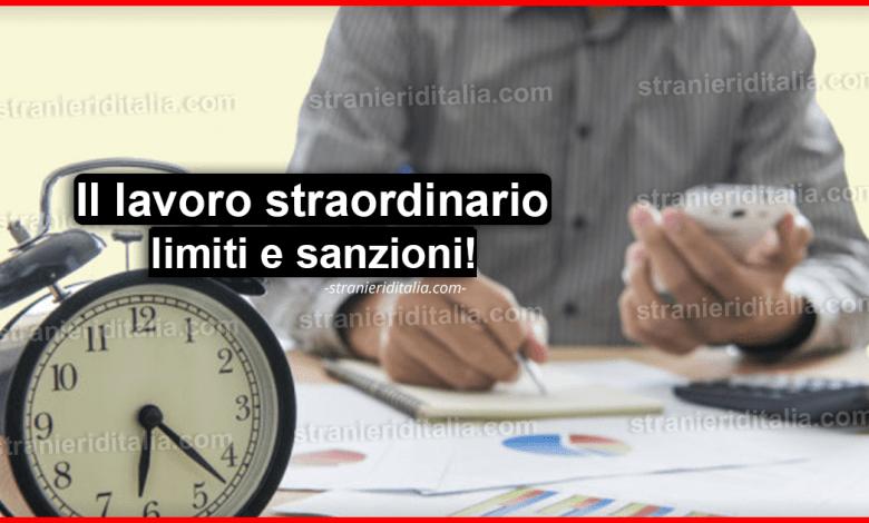 Il lavoro straordinario limiti e sanzioni: Massimo di ore ...