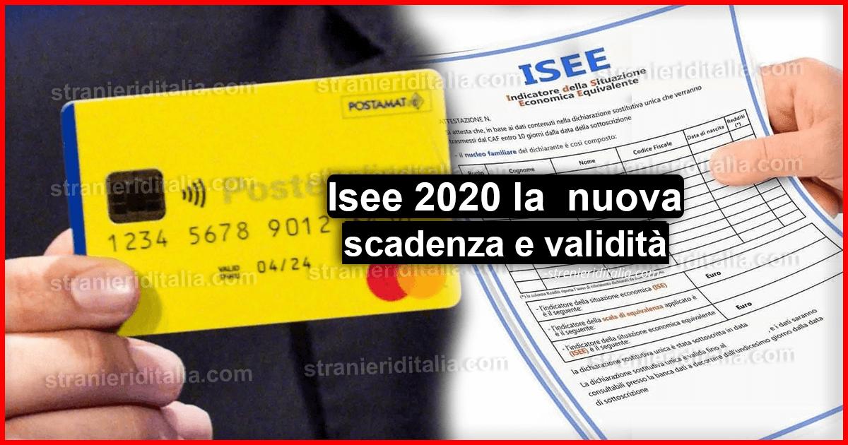 Reddito di cittadinanza 2020: Il rinnovo Isee è obbligatorio!