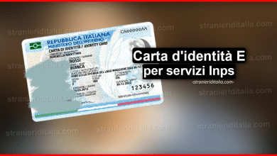 Photo of Carta d'identità elettronica (per servizi Inps) | Stranieri d'Italia