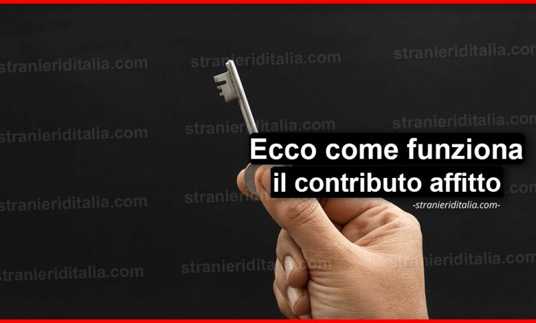 Contributo affitto 2020: Cos'è e come funziona | Stranieri d'Italia