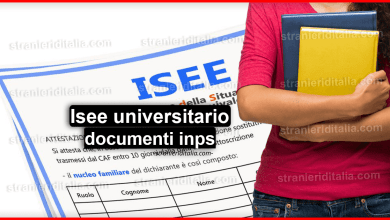 Photo of ISEE universitario 2020 – (calcolo e documenti) | Stranieri d'Italia