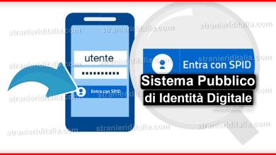 Photo of SPID (Sistema Pubblico di Identità Digitale) | Stranieri d'Italia