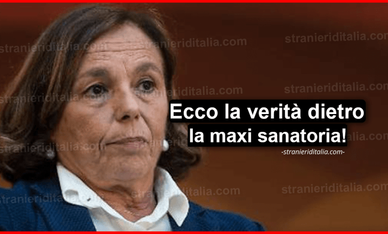 Ecco la verità dietro la maxi sanatoria per irregolari! | Stranieri d'Italia