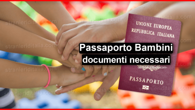 Photo of Passaporto Bambini 2020 (documenti necessari) | Stranieri d'Italia