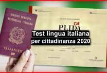 Photo of Test lingua italiana 2020 (aggiornamenti) | Stranieri d'Italia