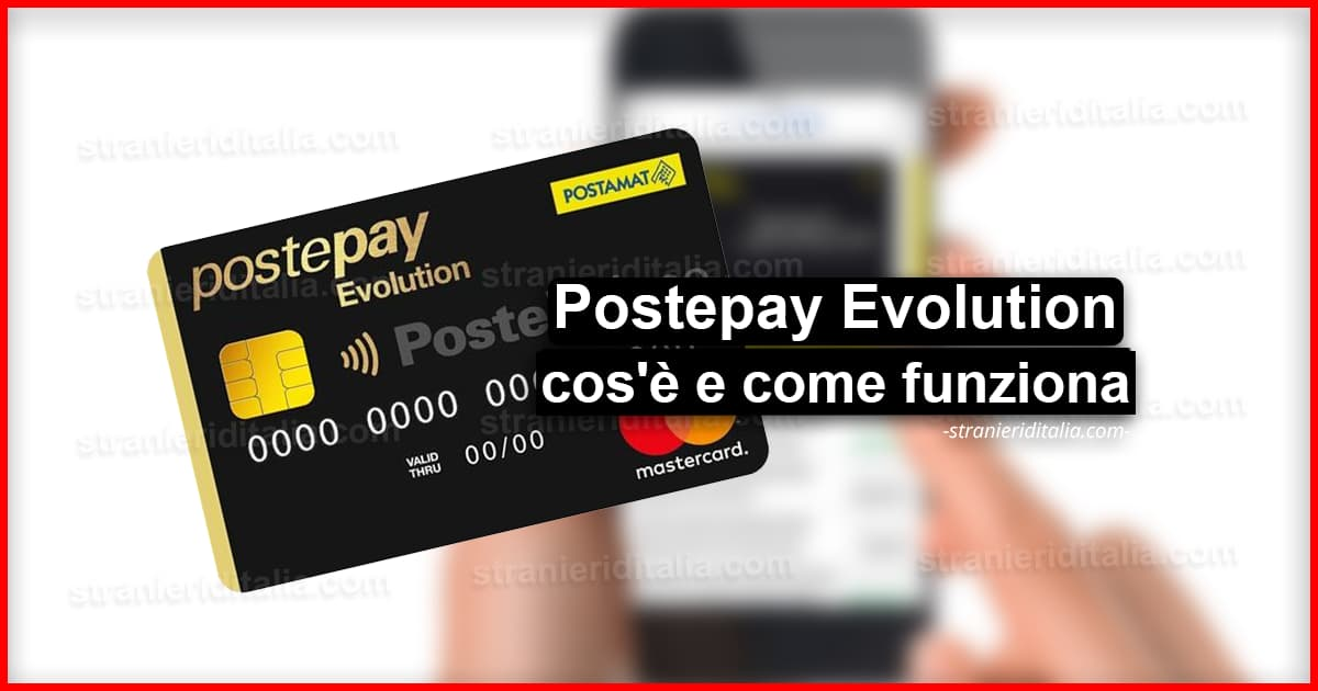 Attenzione Nuovo IBAN per Postepay Evolution