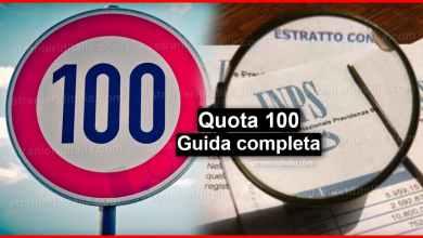 Photo of Quota 100: Ecco come funziona (guida completa) | Stranieri d'Italia