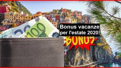 Photo of Bonus vacanze 2020 (cos'è e come richiederlo)