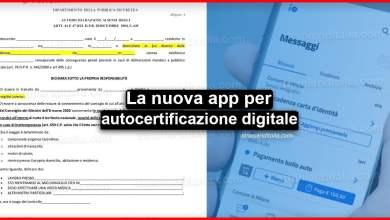 Photo of Nuova autocertificazione digitale: Ecco le nuove regole per spostarsi
