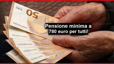 Photo of Pensione minima a 780 euro per tutti! | Stranieri d'Italia
