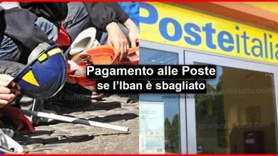 """Photo of Cassa integrazione Inps: """"Pagamento alle Poste se l'Iban è sbagliato"""""""