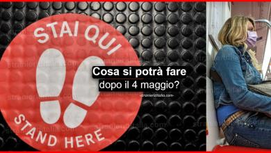 Photo of Fase 2: Cosa si potrà fare dal 4 maggio | Stranieri d'Italia