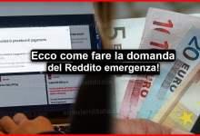 Photo of Reddito emergenza inps: Come fare domanda? Ecco la procedura dell'Inps