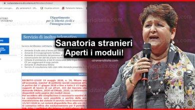 Photo of Sanatoria stranieri: aperti i moduli EMdom_2020 e EMsub_2020