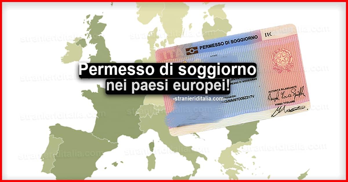 Permesso Di Soggiorno Paesi Europei Per Extracomunitari Seconda Parte