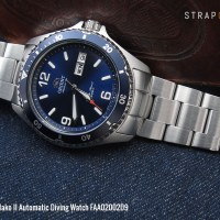 MiLTAT Fine selections - Orient Mako II Automatic Diving Watch FAA02002D9
