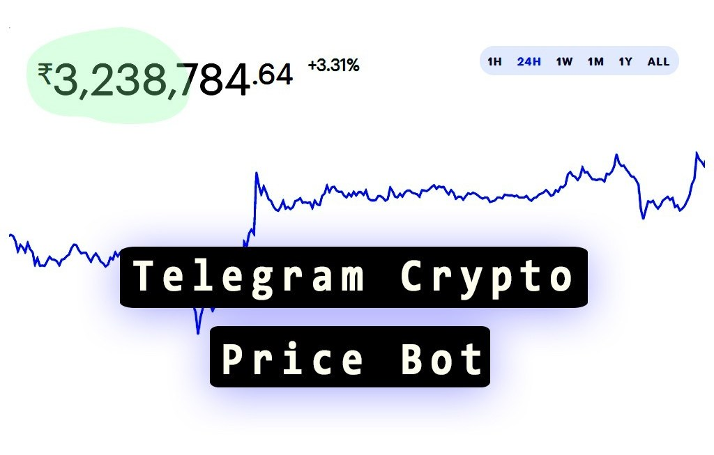 Telegram crypto price bot feature image