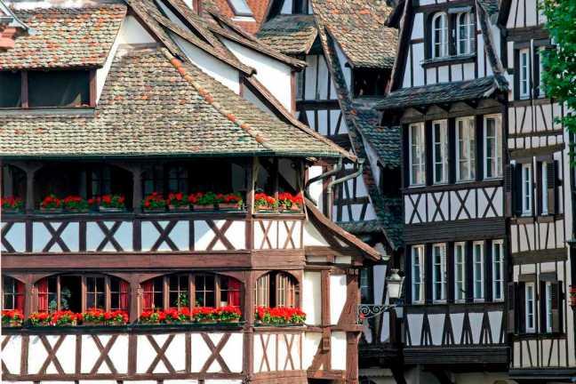 Maisons du quartier de la Petite France