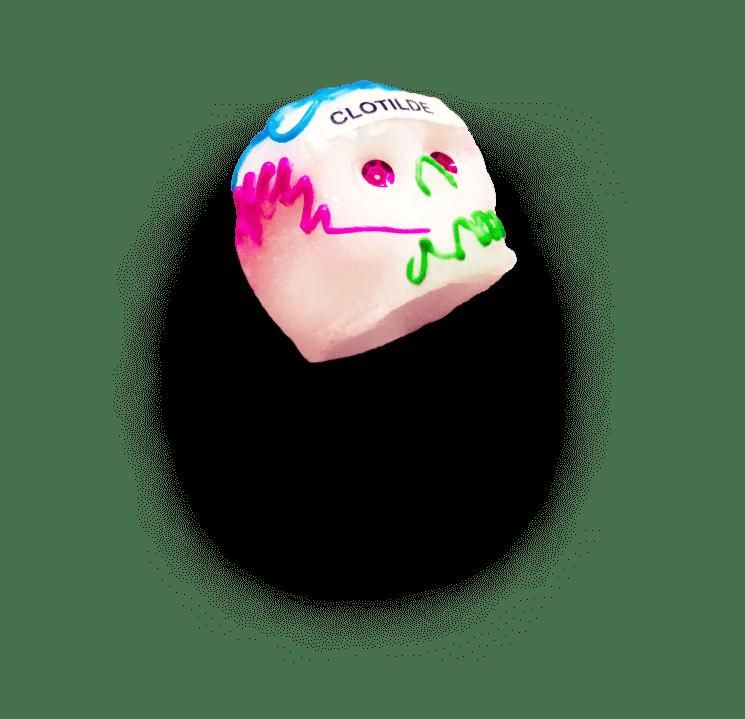 Calavera de Azúcar Pequeño