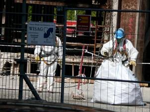 Asbestsanierung im Palast der Republik