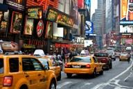 Taxies in New York
