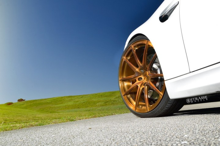Strasse Wheels - Mineral White BMW E92 M3 - SV5 Deep Concave Monoblock 13