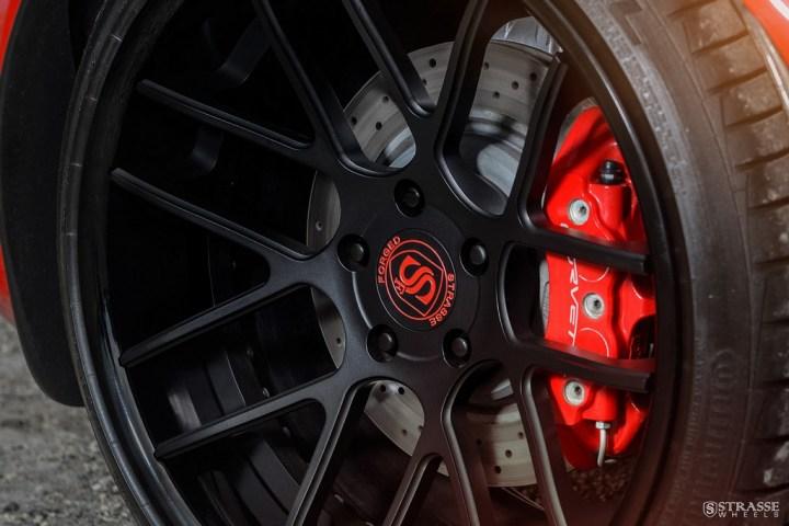 Strasse Wheels Twin Turbo Corvette Z06 12