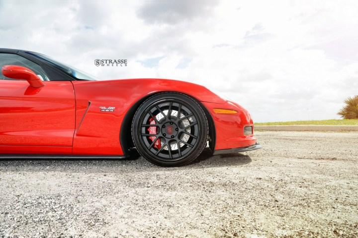 Strasse Wheels Twin Turbo Corvette Z06 7