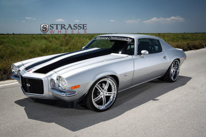Strasse Forged Wheels 72 Camaro SS 2