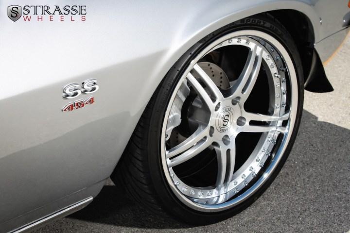 Strasse Forged Wheels 72 Camaro SS 4