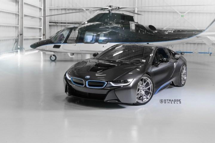 Strasse Wheels - BMW i8 - SM5R Concave Monoblock 1