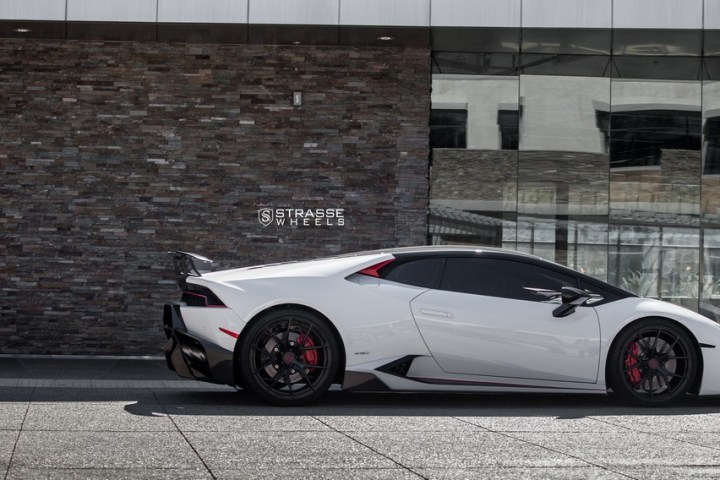 Strasse Wheels - Lamborghini Huracan LP610-4 - 20/21 SM5R Deep Concave Monoblock - Carbon Fiber Edition 11
