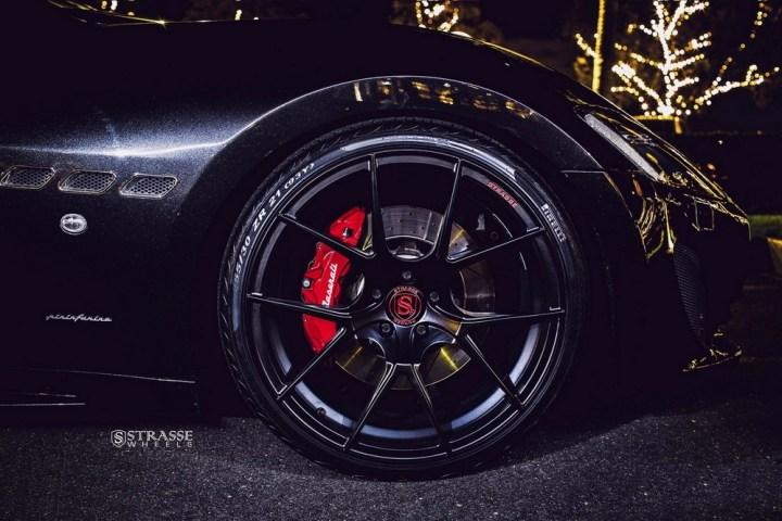 Strasse Wheels Maserati Gran Turismo S Black 3