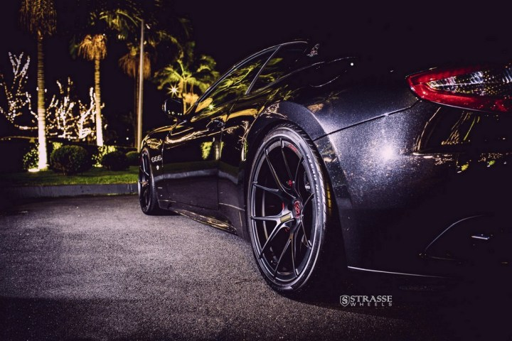 Strasse Wheels Maserati Gran Turismo S Black 9