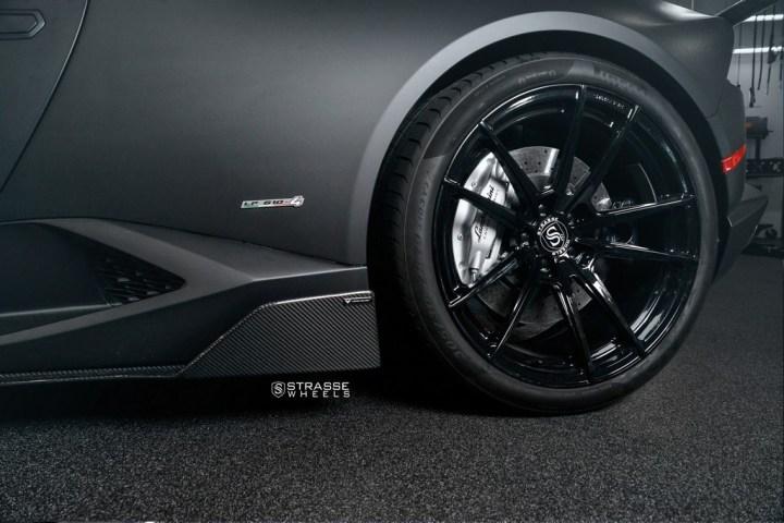 Strasse Wheels Matte Black Huracan SV1 11