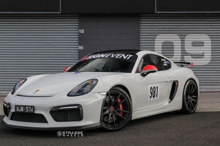 Strasse Wheels Porsche Cayman GT4 SV1 7