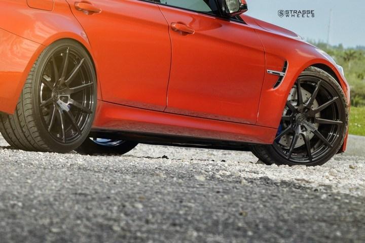Strasse Wheels Sakhir Orange BMW M3 10