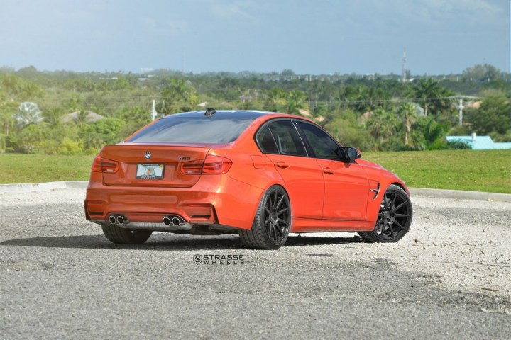 Strasse Wheels Sakhir Orange BMW M3 9