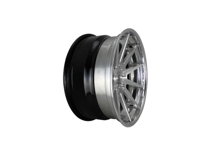 R10 Deep Concave FS - Brush & Polished 6