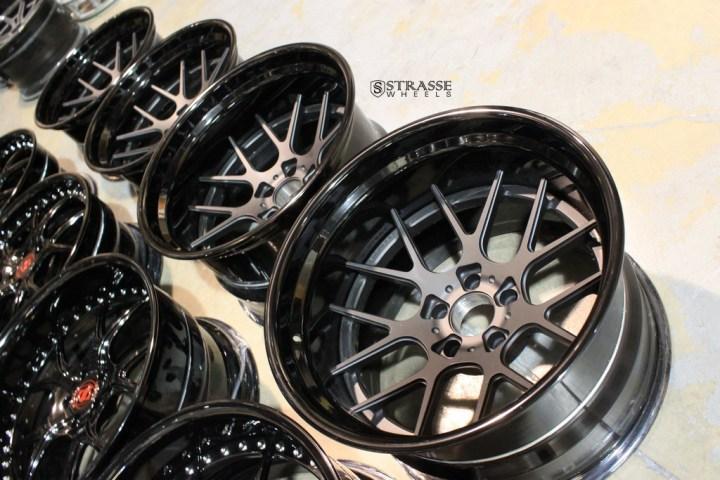 SM7 Deep Concave FS - Matte Black & Gloss Black 15