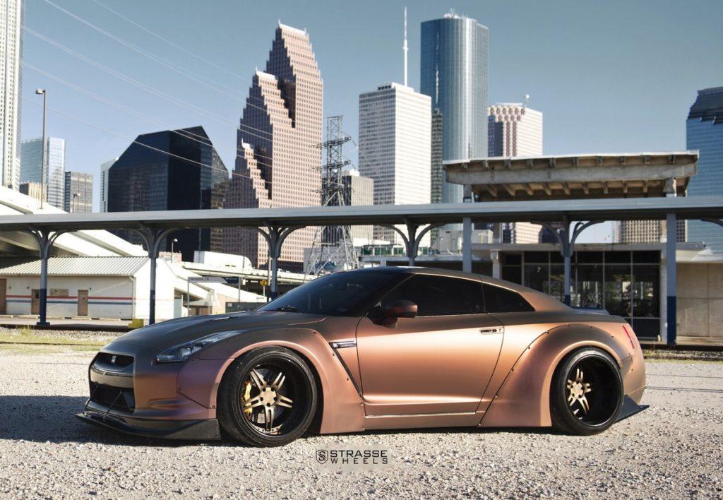 Strasse Wheels - Liberty Walk Wide Body Nissan GT-R - SP5R Signature Series 15