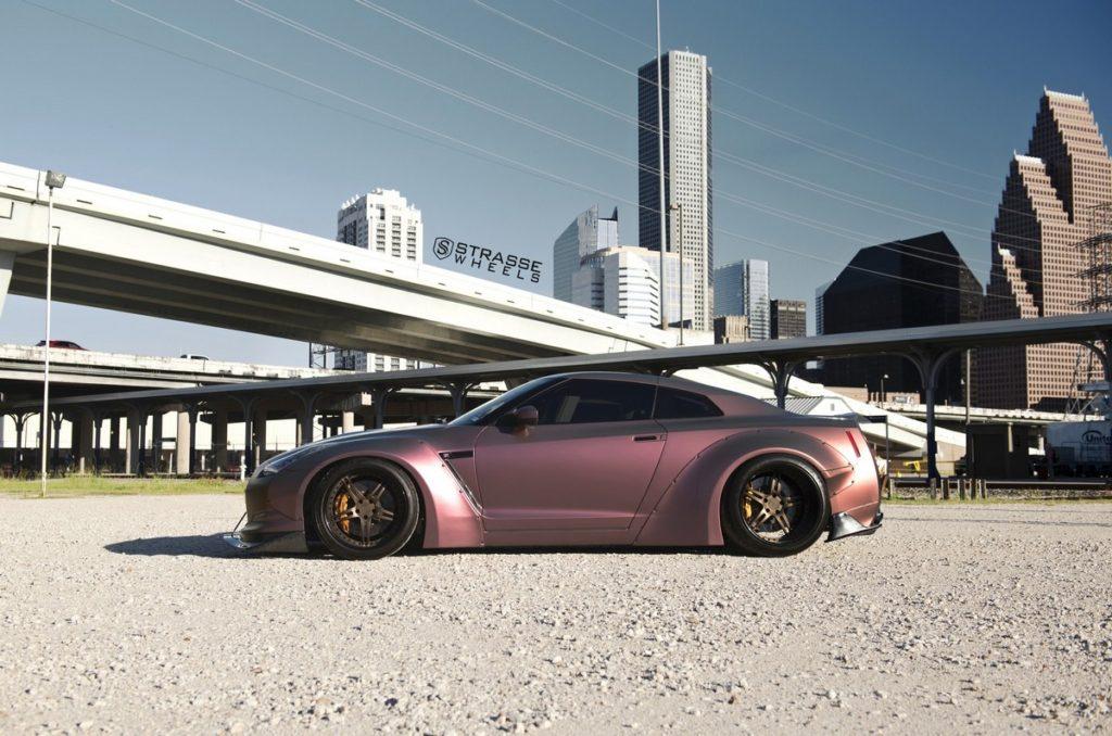 Strasse Wheels - Liberty Walk Wide Body Nissan GT-R - SP5R Signature Series 14
