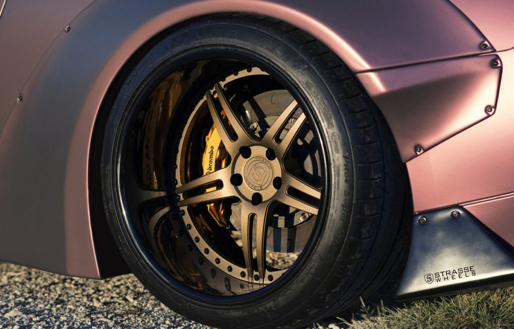 Strasse Wheels - Liberty Walk Wide Body Nissan GT-R - SP5R Signature Series 3