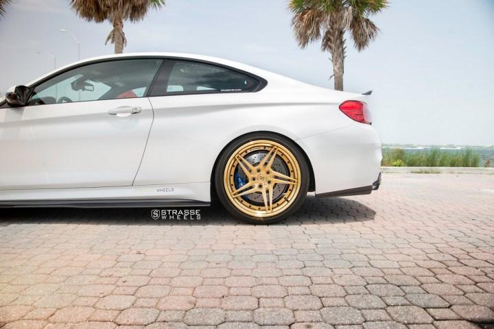 BMW F82 M4 - SV2T Deep Concave FS - Gold - Rob 14