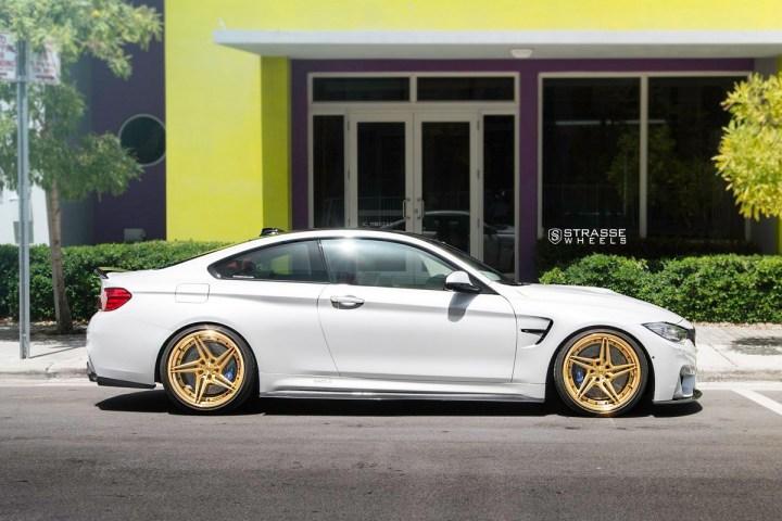 BMW F82 M4 - SV2T Deep Concave FS - Gold - Rob 8