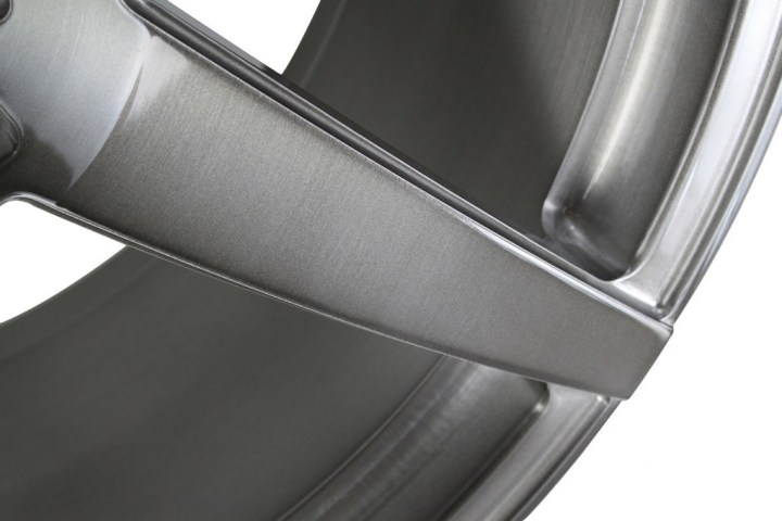 S6 Deep Concave Monoblock - Gloss Brushed Titanium 8