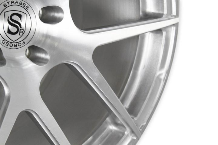 SM5 Deep Concave Monoblock - Brushed Aluminum 5
