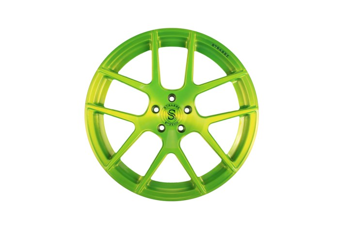 SM5 Deep Concave Monoblock - Gloss Brushed Green 1