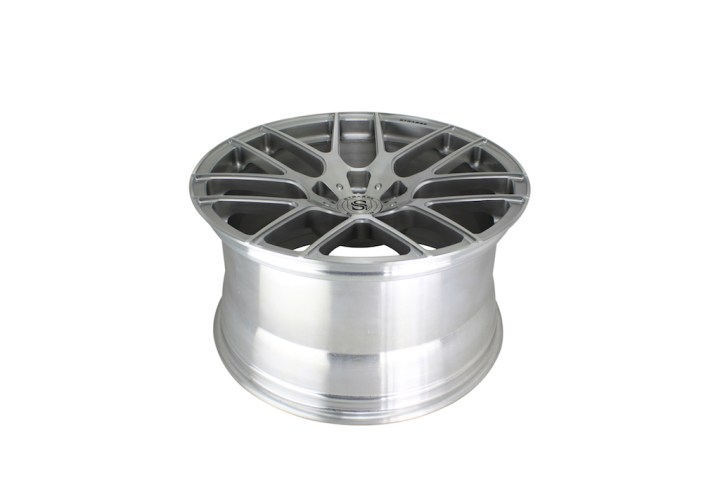 SM7 Deep Concave Monoblock - Brush & Gloss Clear 8